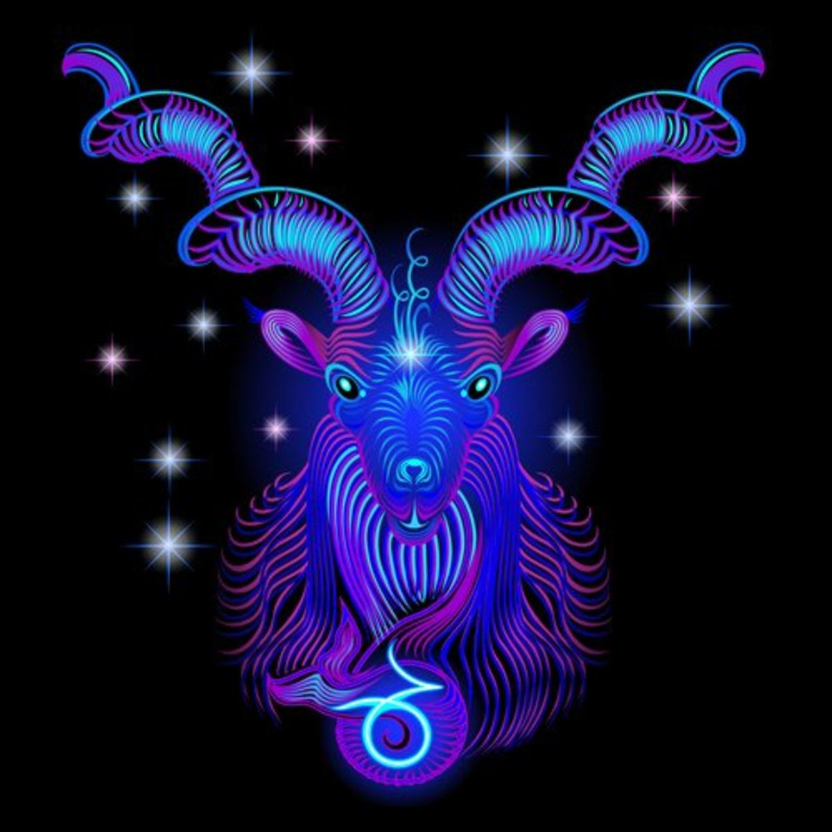 Capricorn is infused with authority, stability and financial expertise.