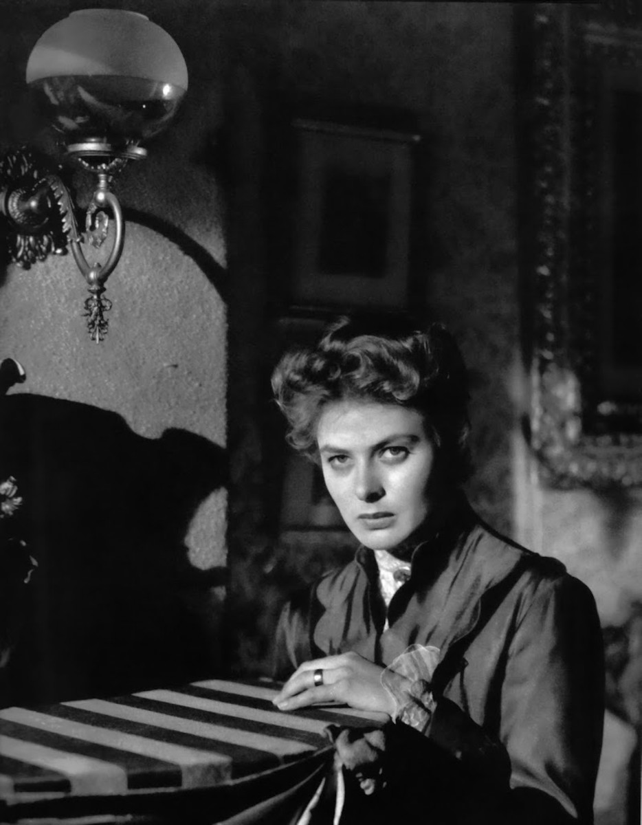 Ingrid Bergman plays Paula Alquist in the 1944 movie, Gaslight.