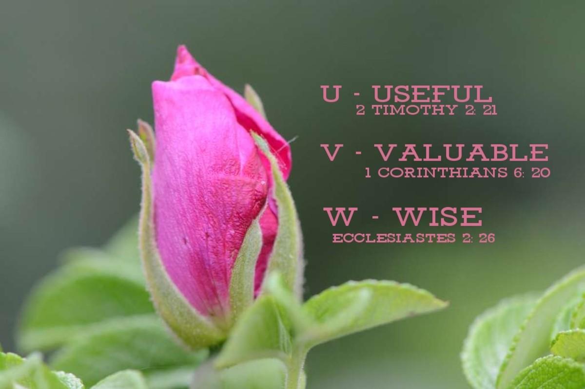 Self-Worth Alphabet