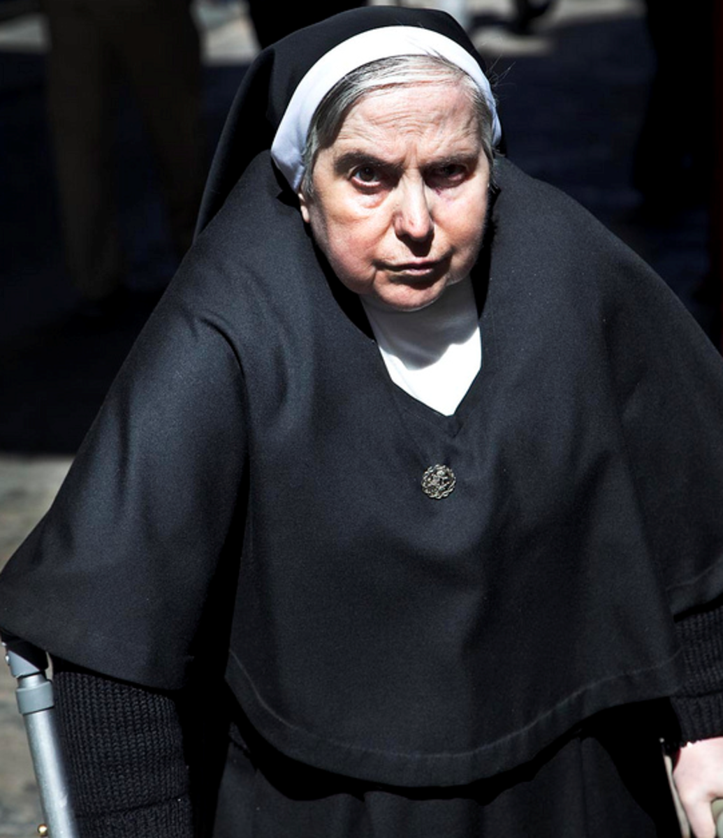 I was manhandled by a nun when I was 6. That experience left me feeling frightened, powerless, and always wanting to please.