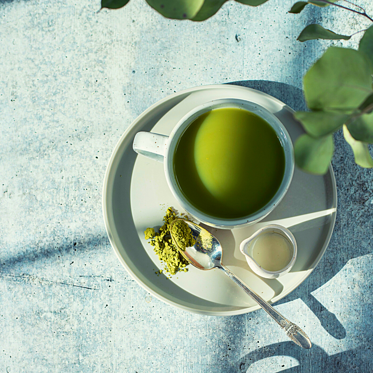 Matcha is consumed in ceremonies in Japan, due to its ability to induce an alpha-wave-based flow state.