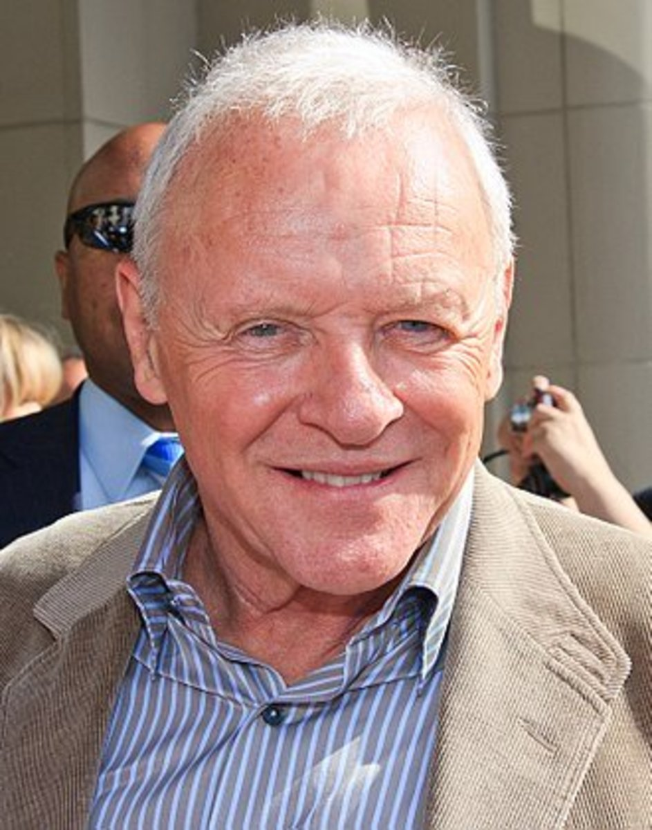 Sir Anthony Hopkins is a world famous Welsh film star, stage, and TV actor. He is a philanthropist, a recovering alcoholic, and a music composer.