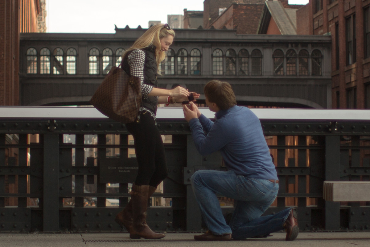 Many celebrities have gotten engaged in big cities, this could work for you too!