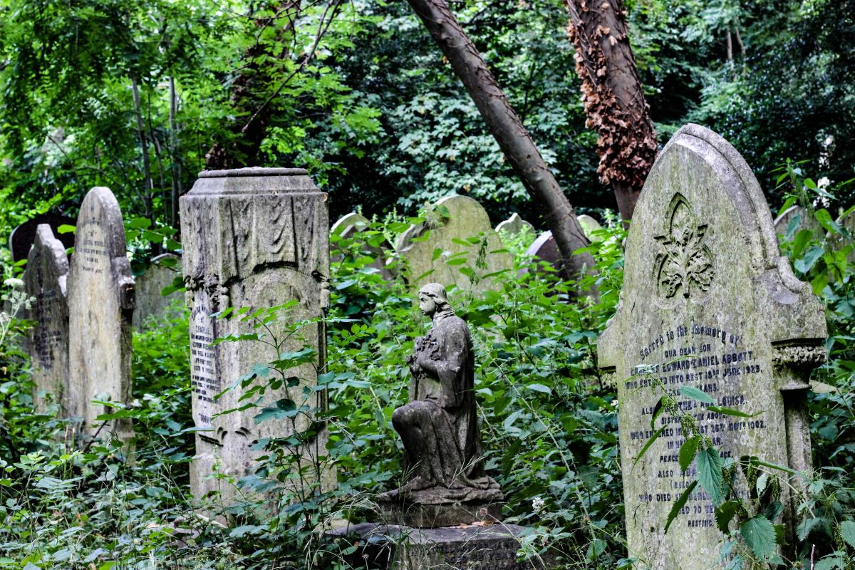 Cemetery (noun): A graveyard or burial place for the deceased.
