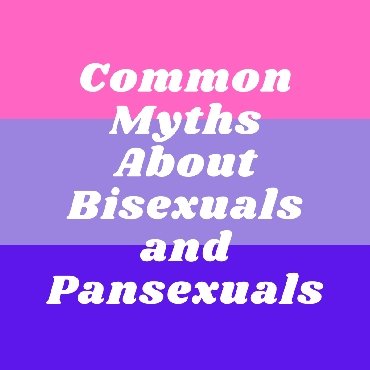 There are many myths circulating bi and pan identities.