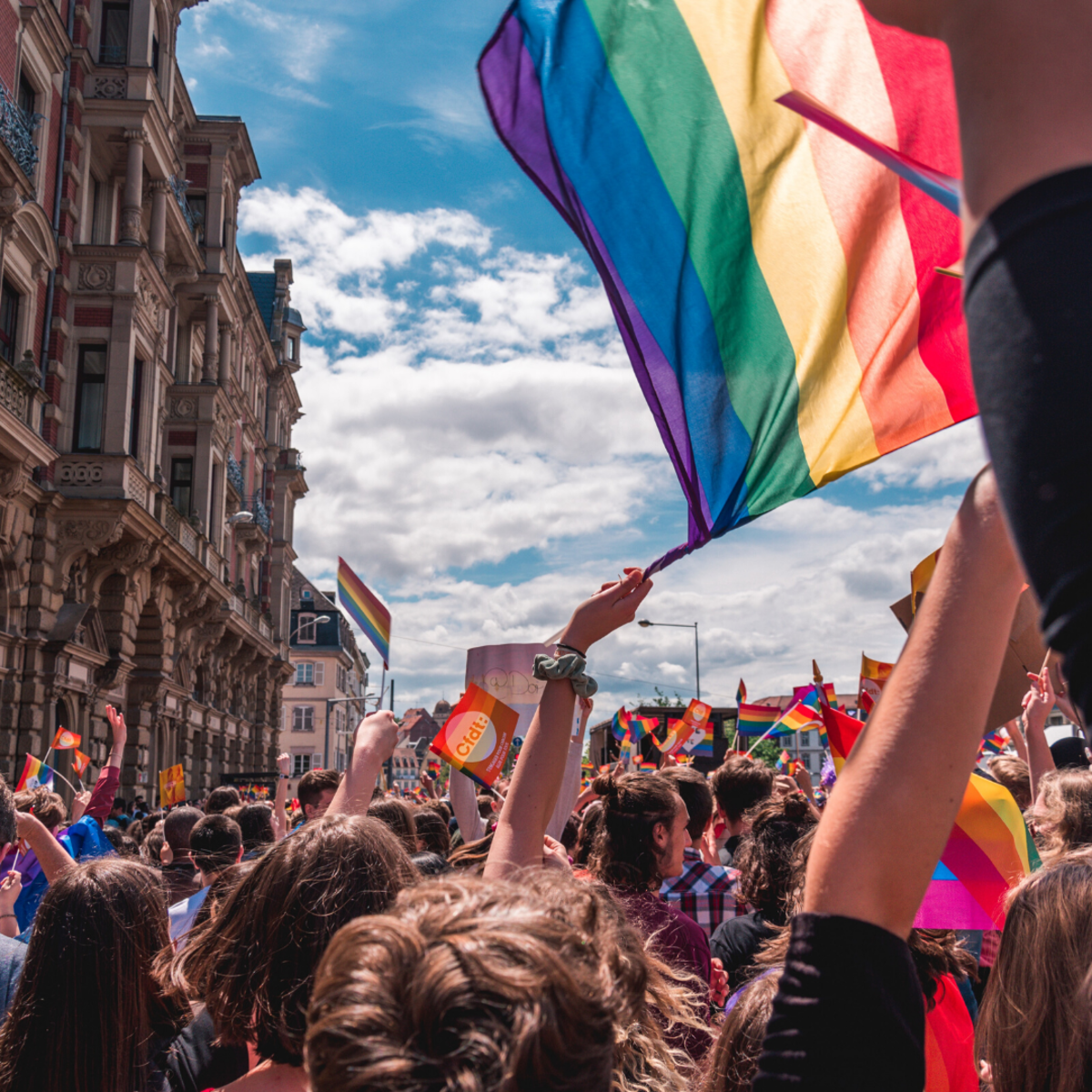 Do you feel at home at LGBT+ events?