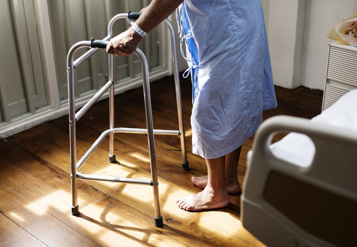 Elderly and disabled people are at high risk of being neglected and abused by a spouse or partner.
