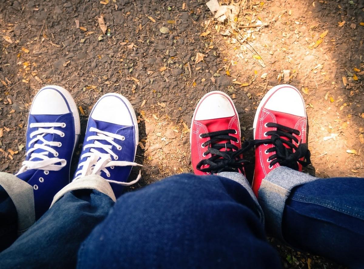 Converse shoes are bi culture!