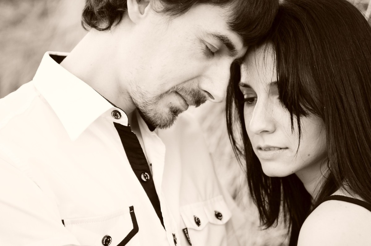 Wedding vows mean that couples need to stick together in bad times as well as good ones if their marriages are to last.
