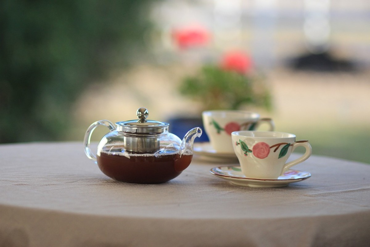 Consider inviting a single person to join you for a cup of tea.