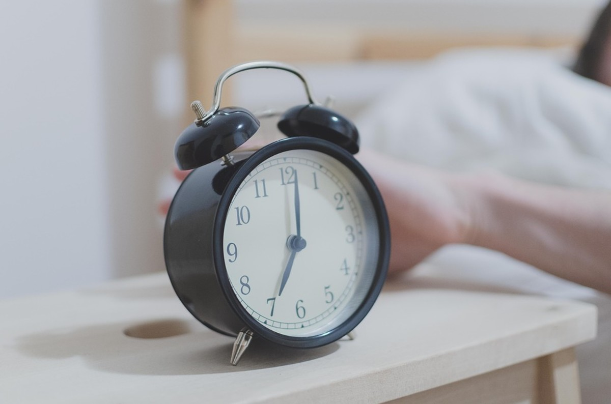 It's harder to get up early for a worship service when there's nobody holding you accountable.