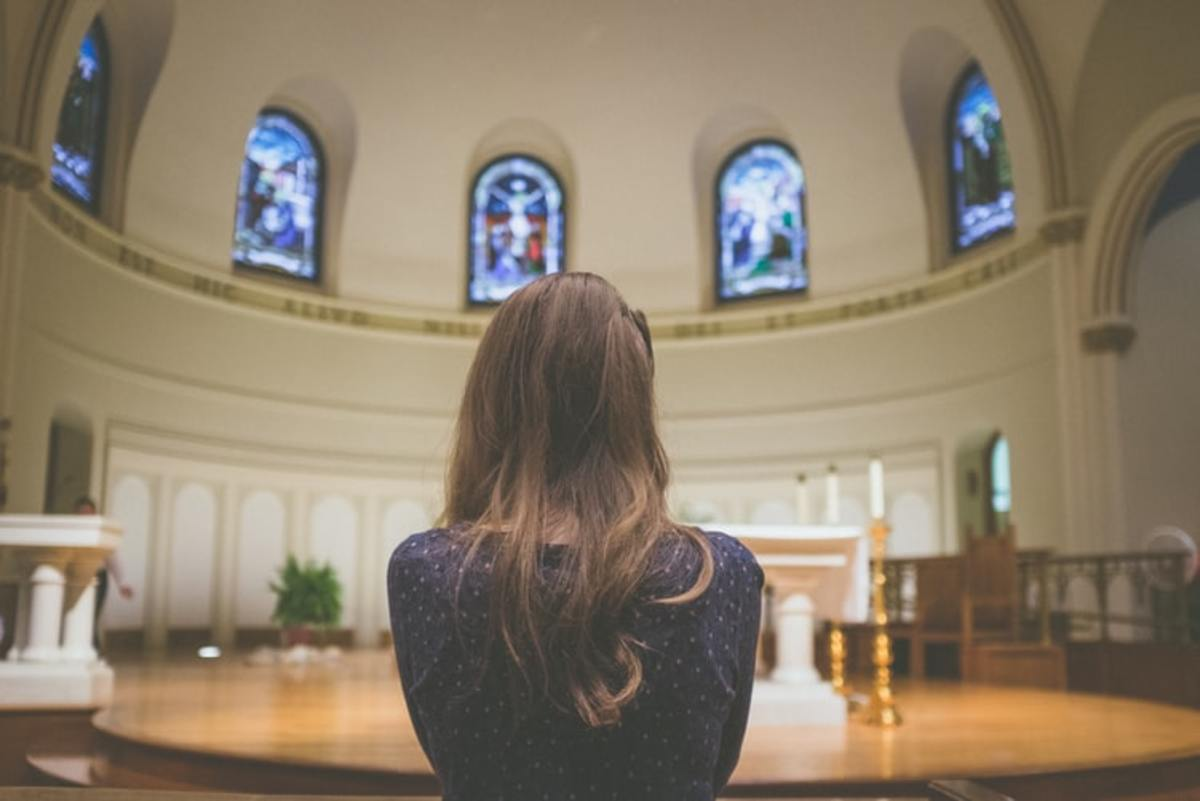 Entering a church alone for the first time can be intimidating for many singles.
