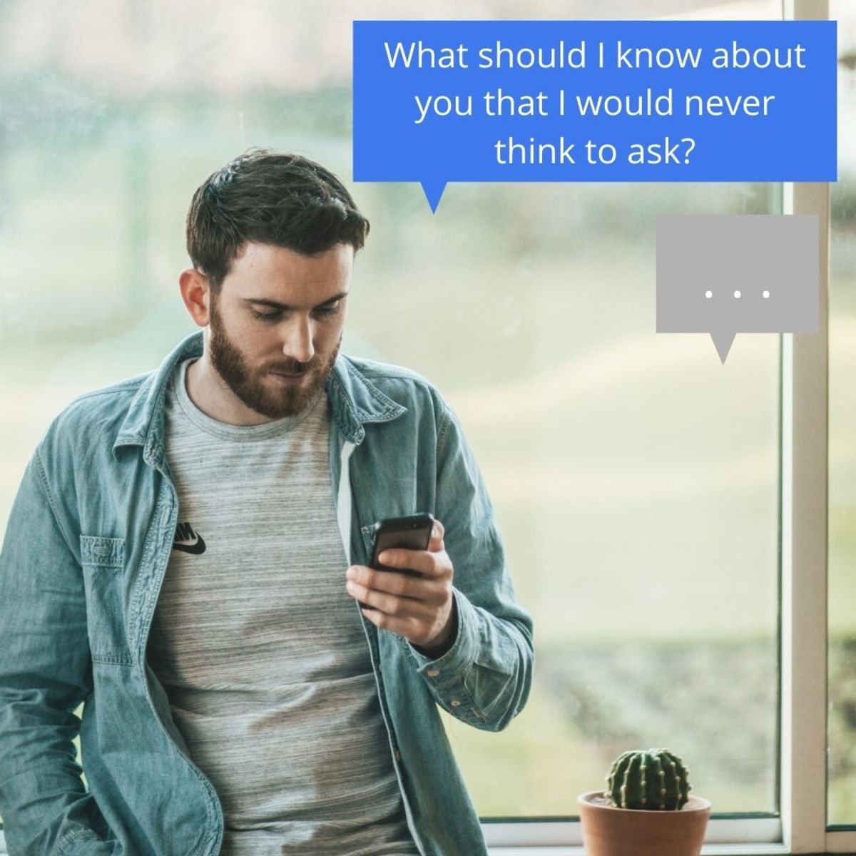 Get a response on Tinder by asking questions that make her think.