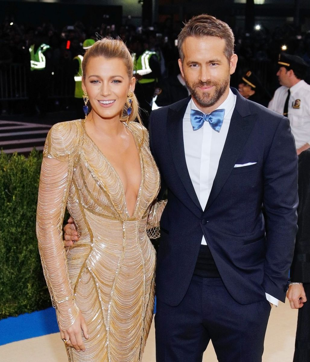 Ryan Reynolds and Blake Lively are a prominent Leo couple.