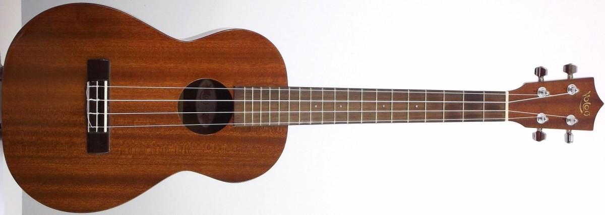 Koloa High Gloss Mahogany Acoustic Baritone Ukulele