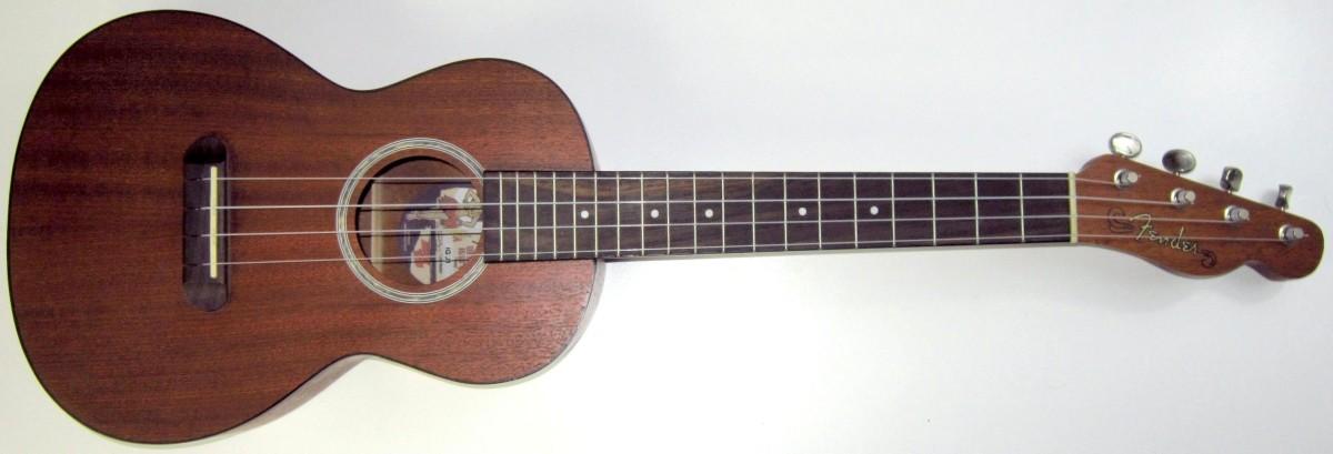 Fender Hai'ola Mahogany Acoustic Tenor Ukulele