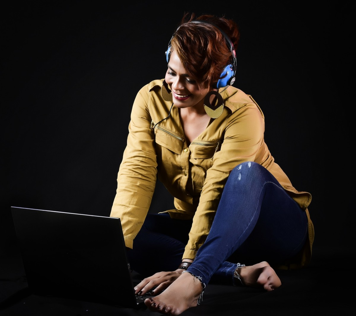 Record your voice using your computer.  Make it a daily habit so that you'll get used to your sound.  Recording also helps to change the sound of your voice by identifying problems.