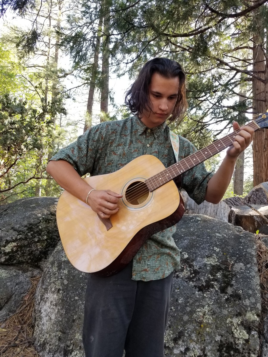 Aiden makes music with nature to discover his own uniqueness.