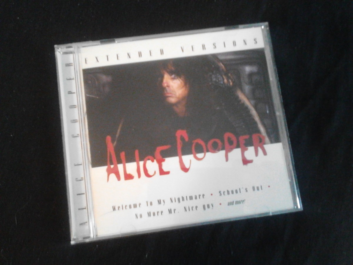 "Alice Cooper's tracks were recorded during the highly successful ""Trash"" tour"