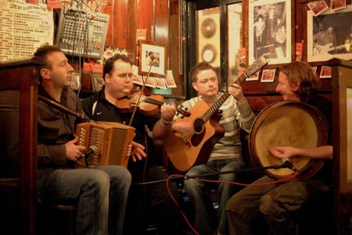 Irish Folk Music.
