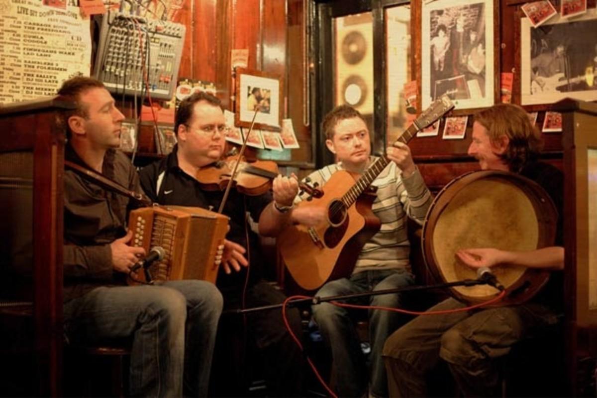 Irish Folk Music.