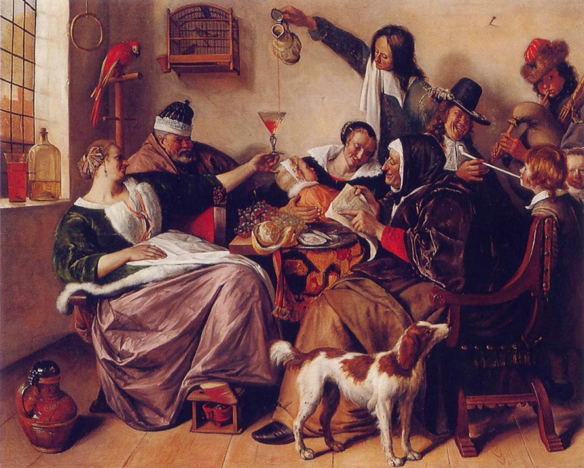 The Way You Hear It (Jan Steen 1663-1665)
