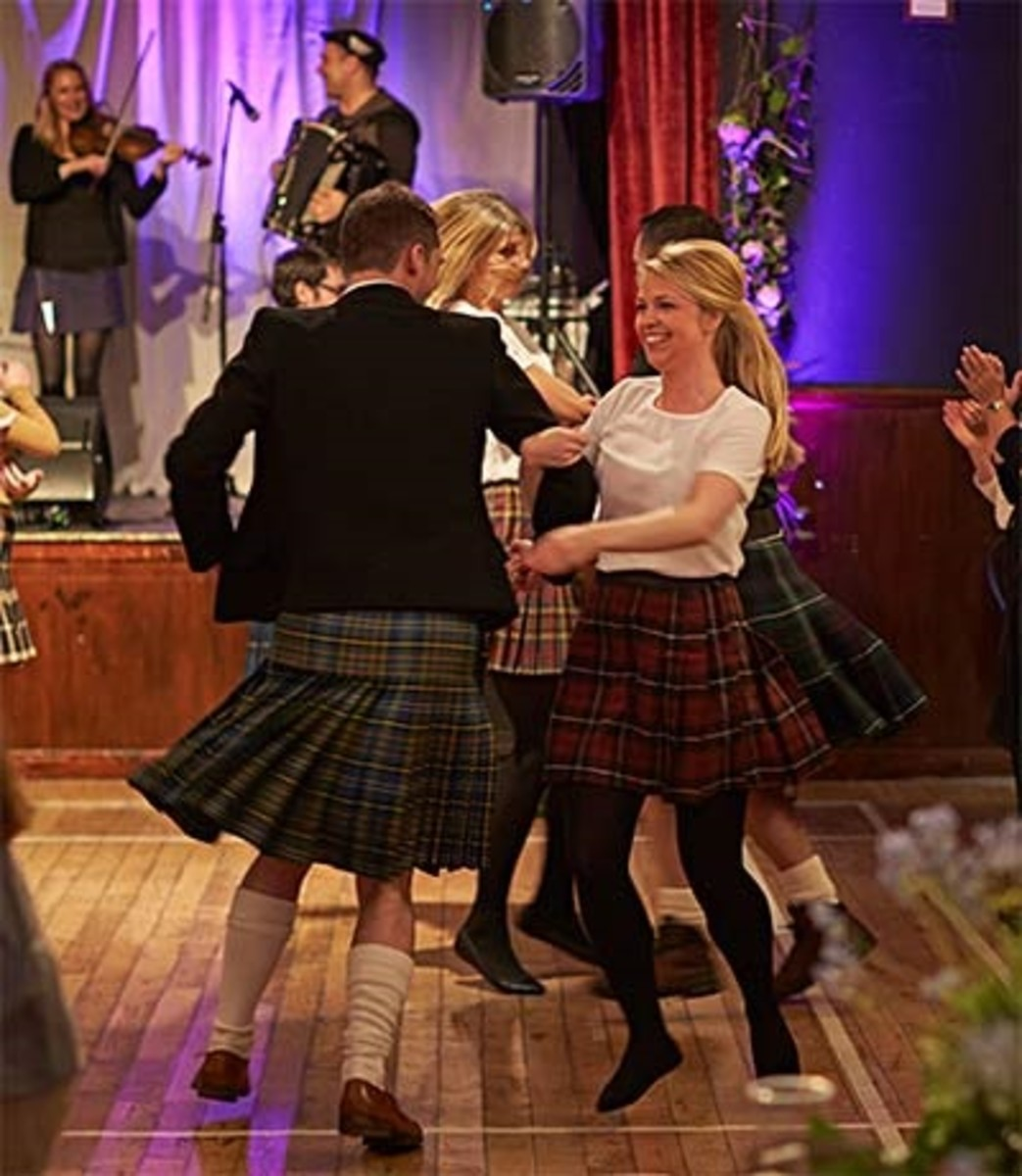 Scottish Ceilidh and Ceilidh Dances.
