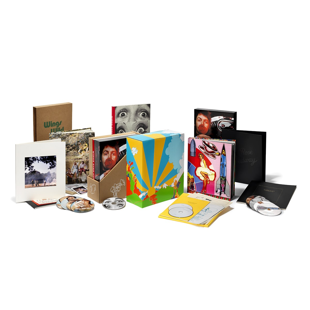 The McCartney and Wings Box Sets