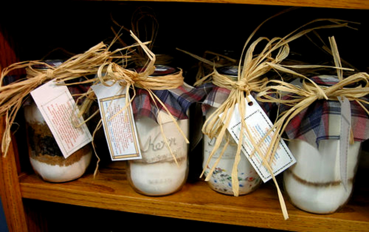 Make up several batches as hostess gifts!