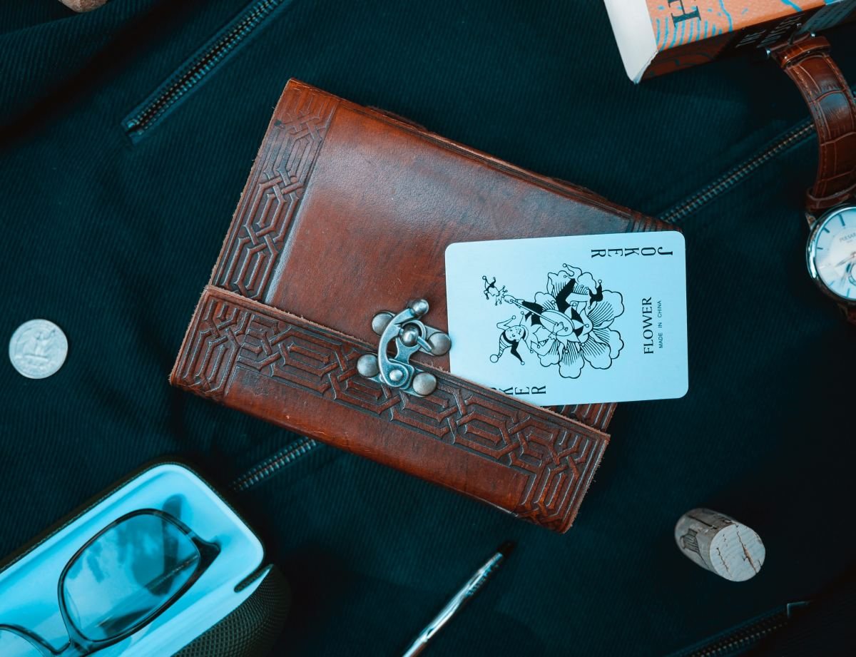 Sets of vintage playing cards make a nice keepsake for your game playing hosts.