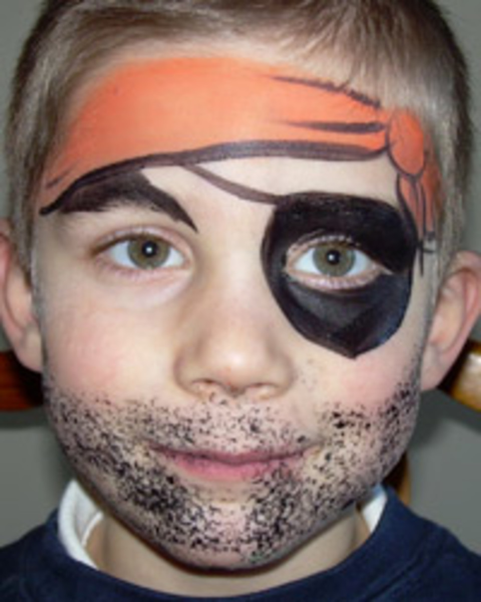 Pirate Face Painting For Children Tutorials Tips And