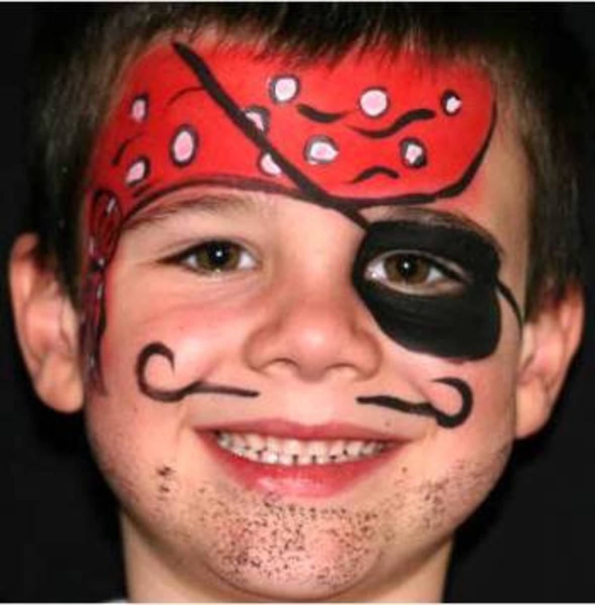 Pirate Face Painting for Children: Tutorials, Tips, and ...
