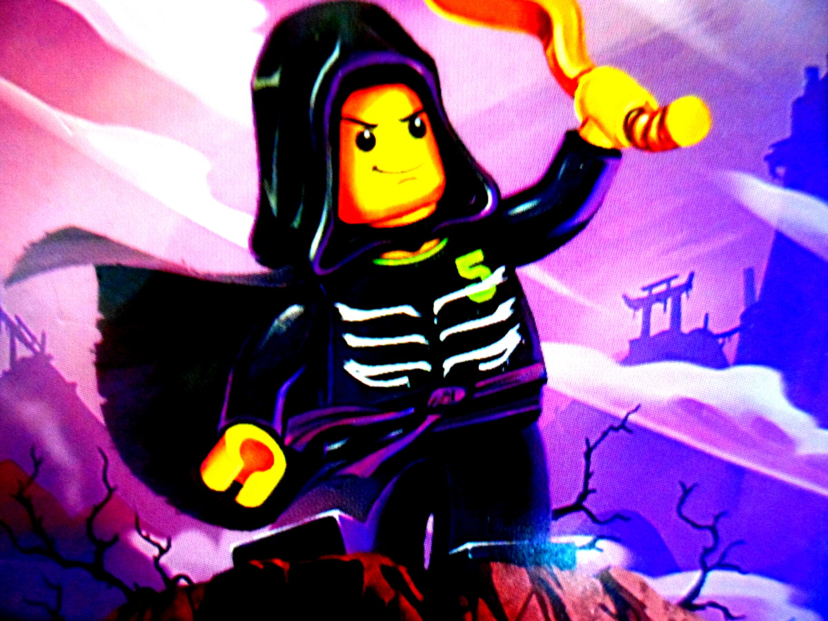 A picture of Lloyd Garmadon from my son's Ninjago card collection.