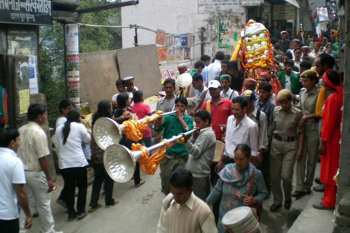 Kullu Dussehra procession