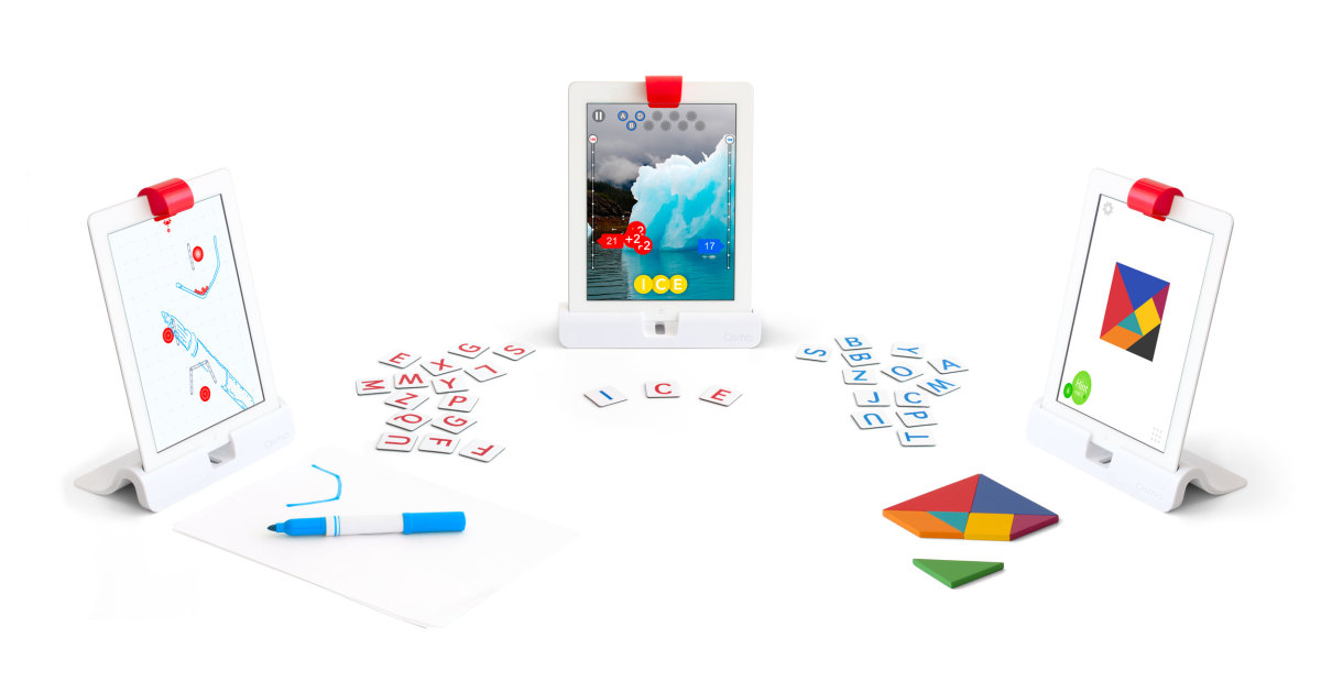 Osmo Gaming System—Great gift for kids that combines digital and physical play.