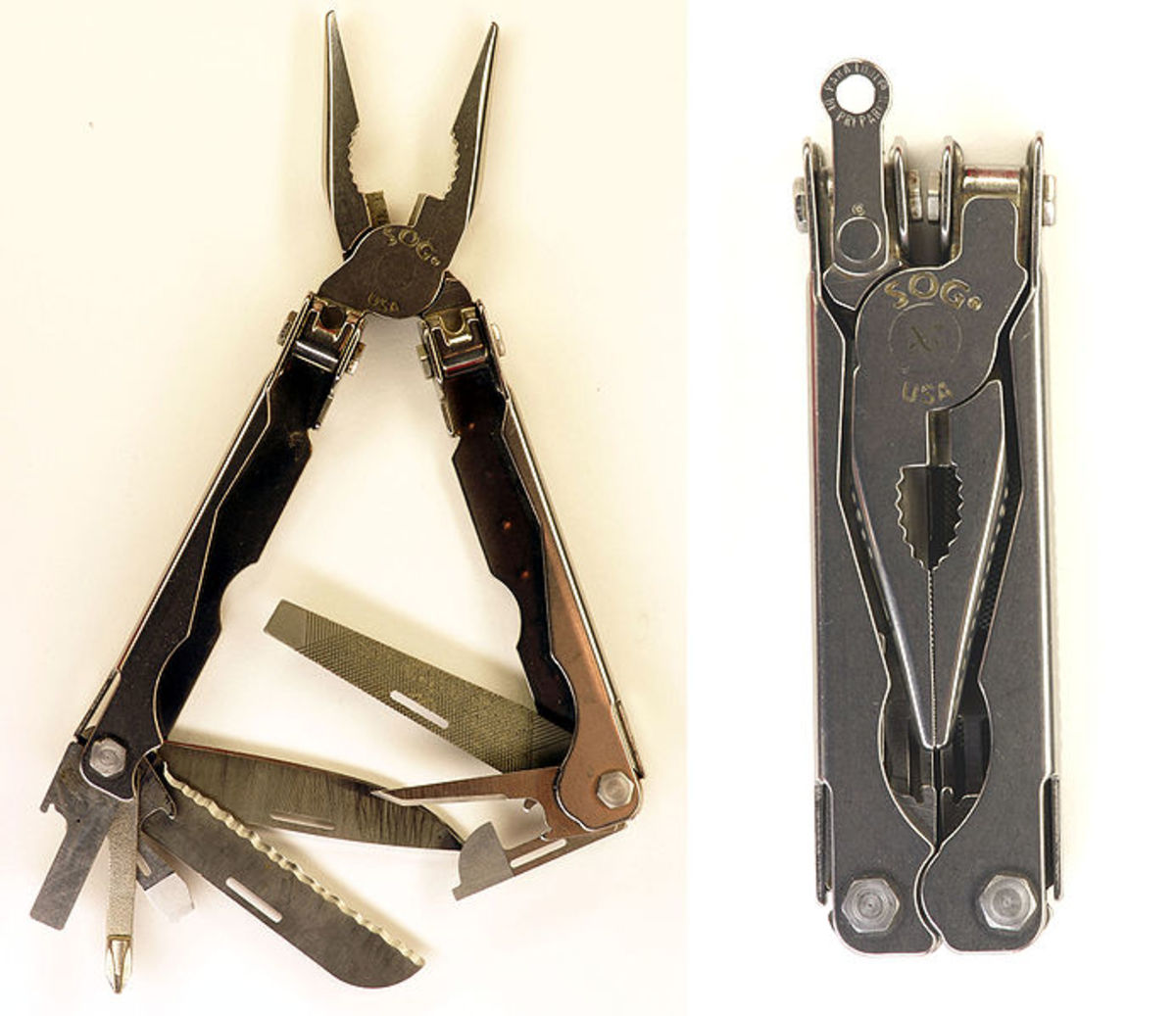 The wonderful tools are compact enough to carry on a belt and will do anythiing