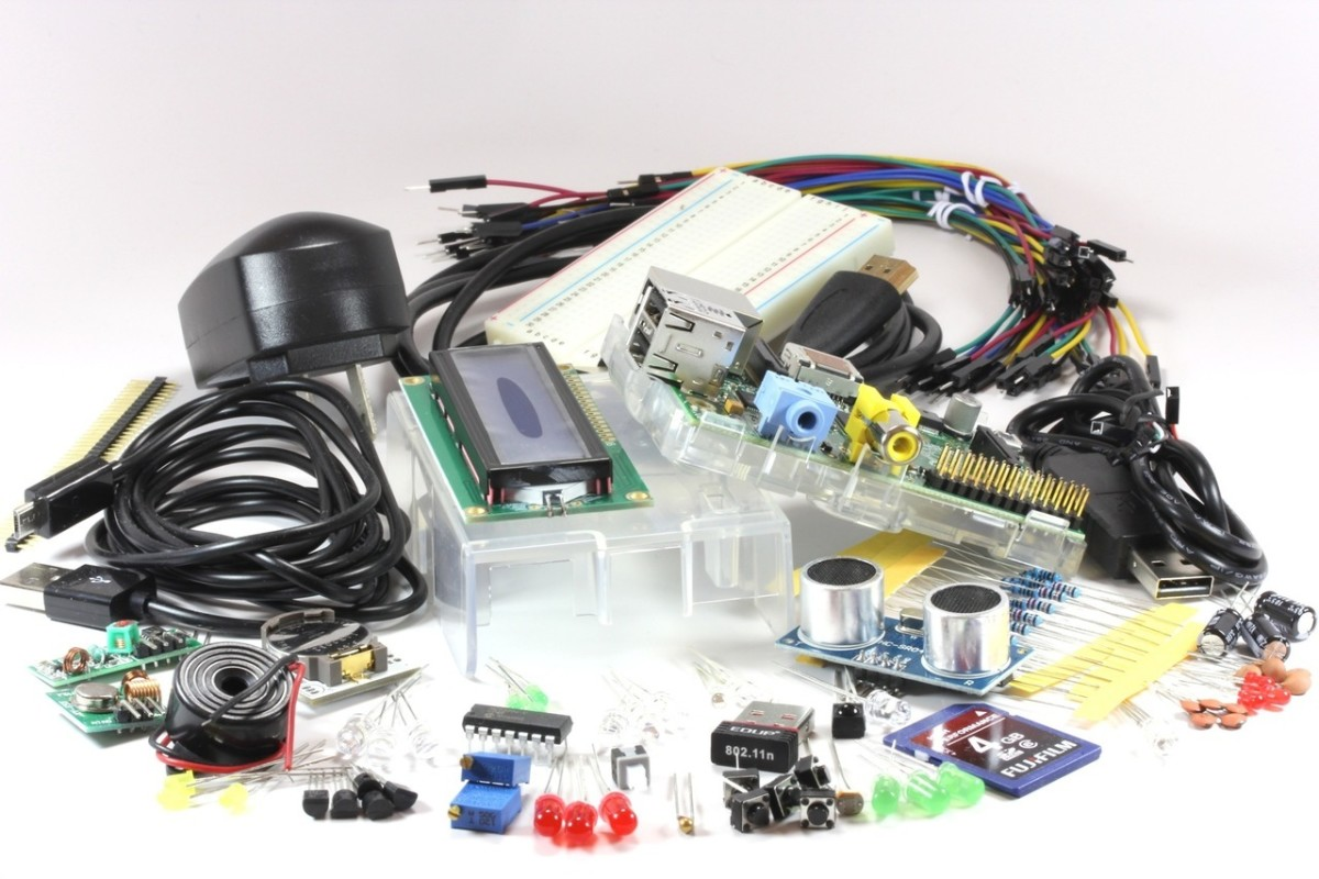 Raspberry Pi is a kit from which you can build a tiny computer and learn programming through practical projects.