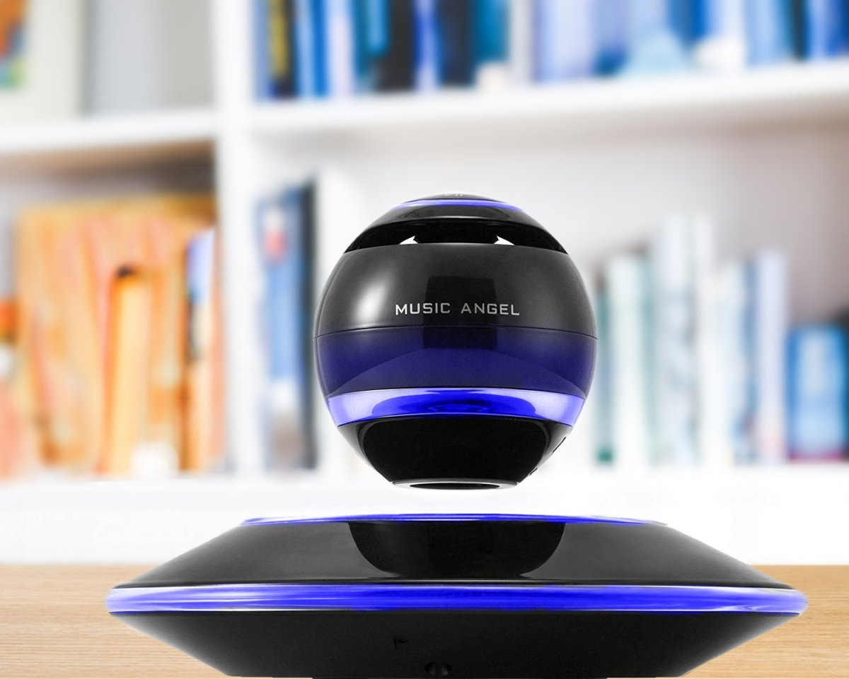 A futuristic-looking speaker that levitates while playing his favorite songs would make an awesome gift for a guy.