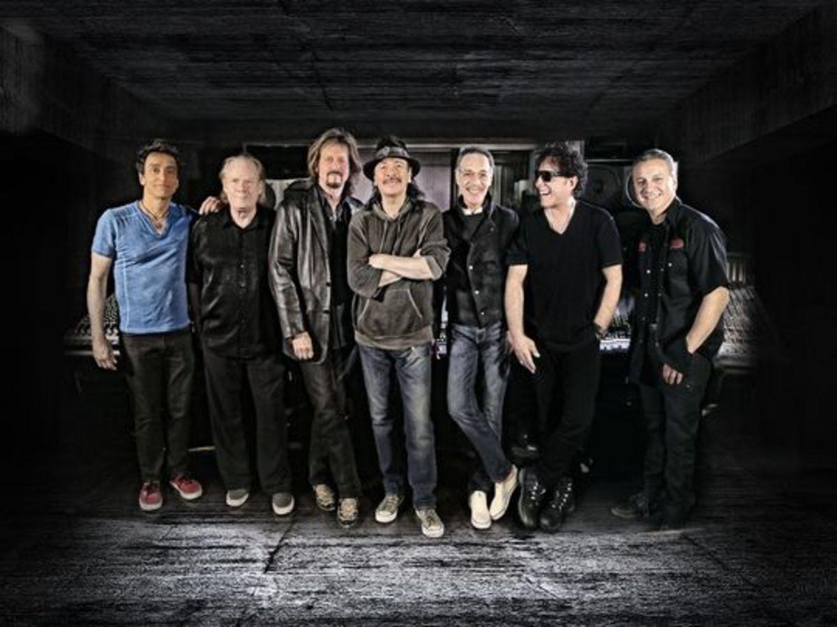 Re-formed Santana in 2015