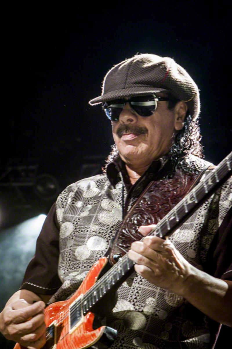 Carlos Santana in 2010
