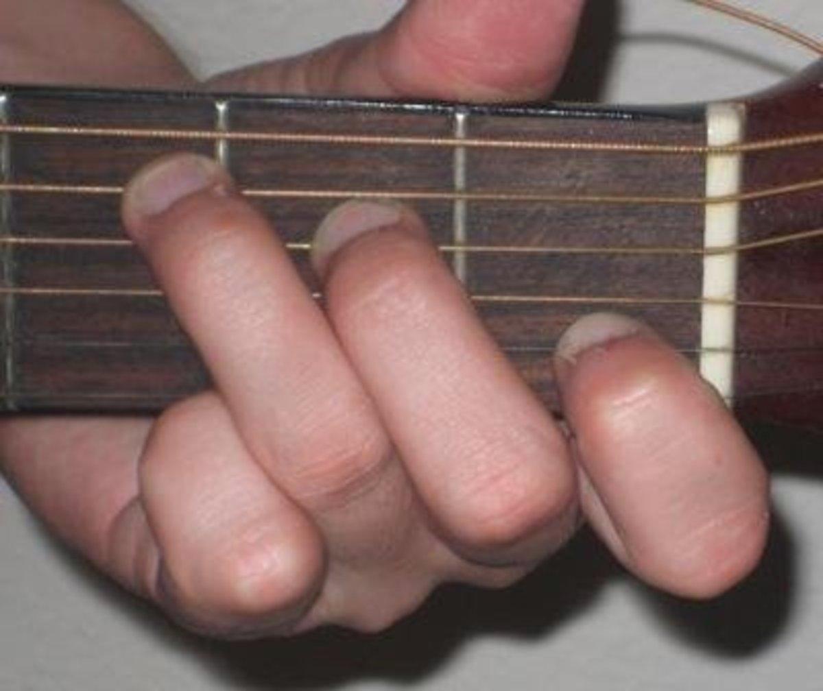 Full C chord.