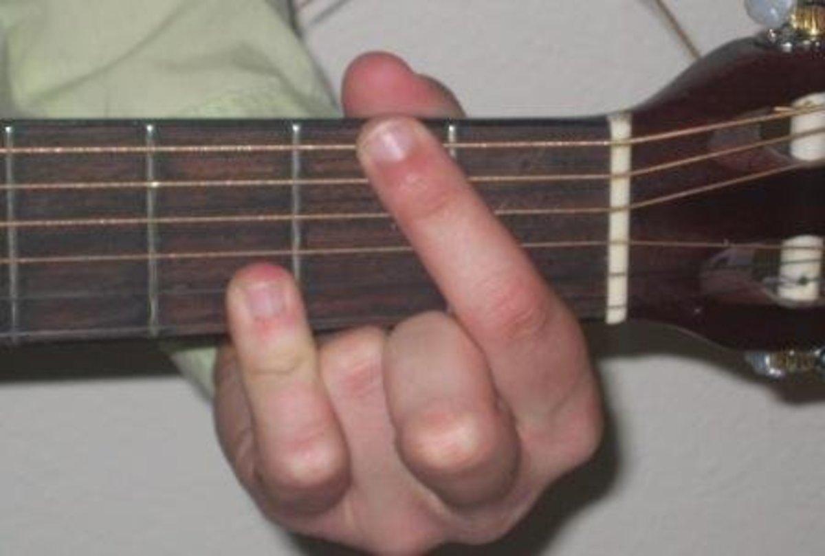 DF chord fingering.