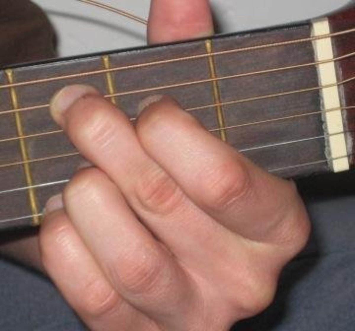 Second C chord.