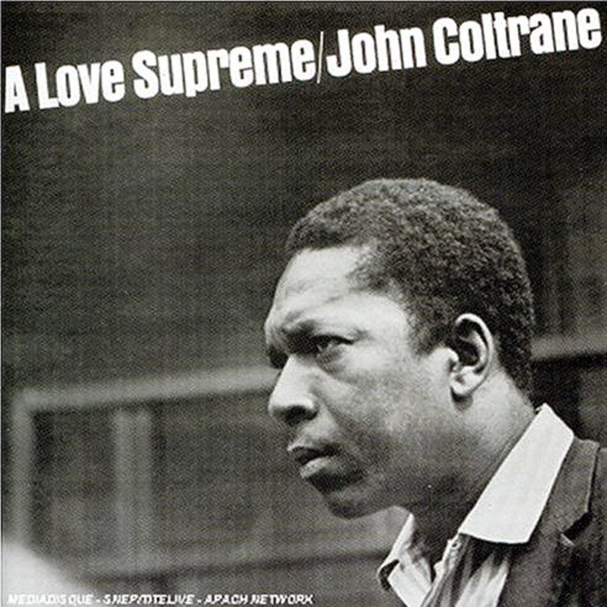 """""""A Love Supreme"""" cover art"""