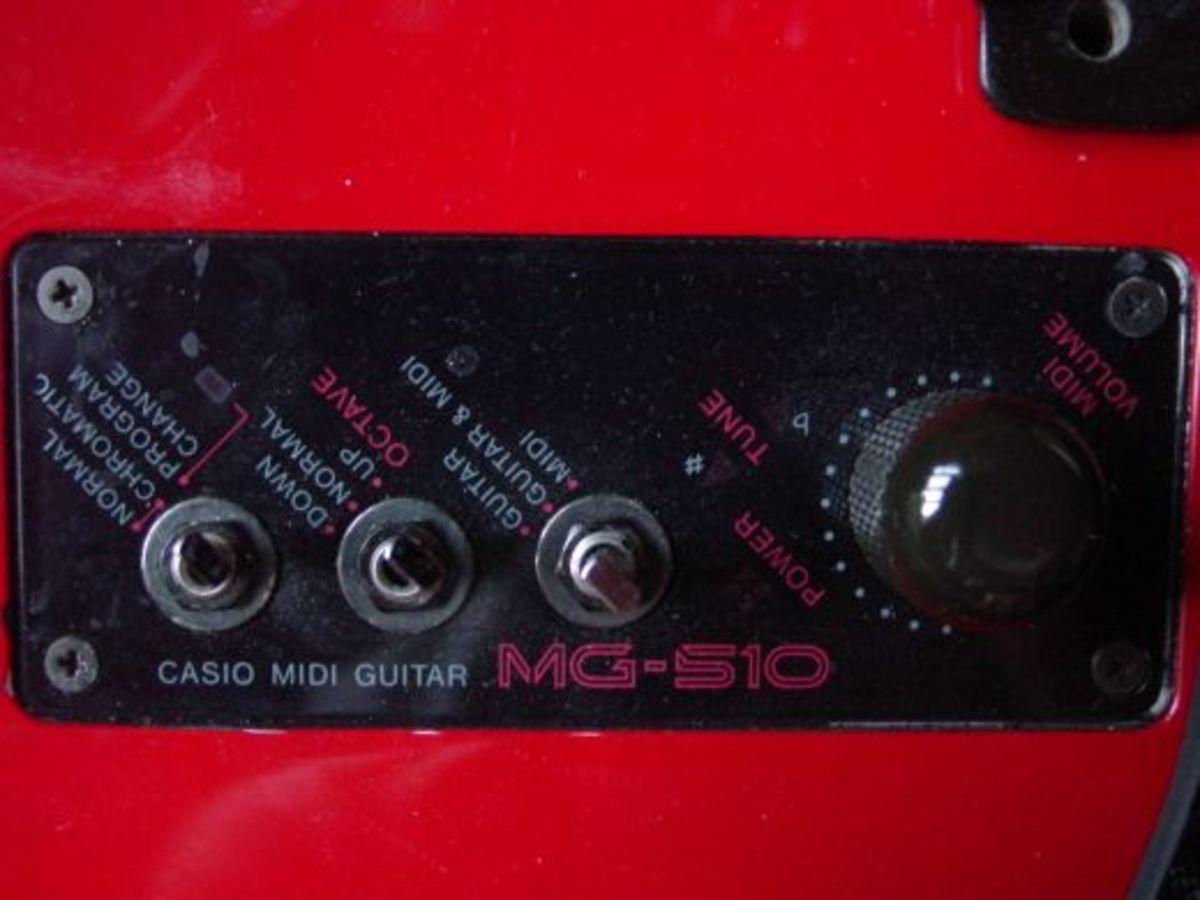MIDI Control Panel Detail