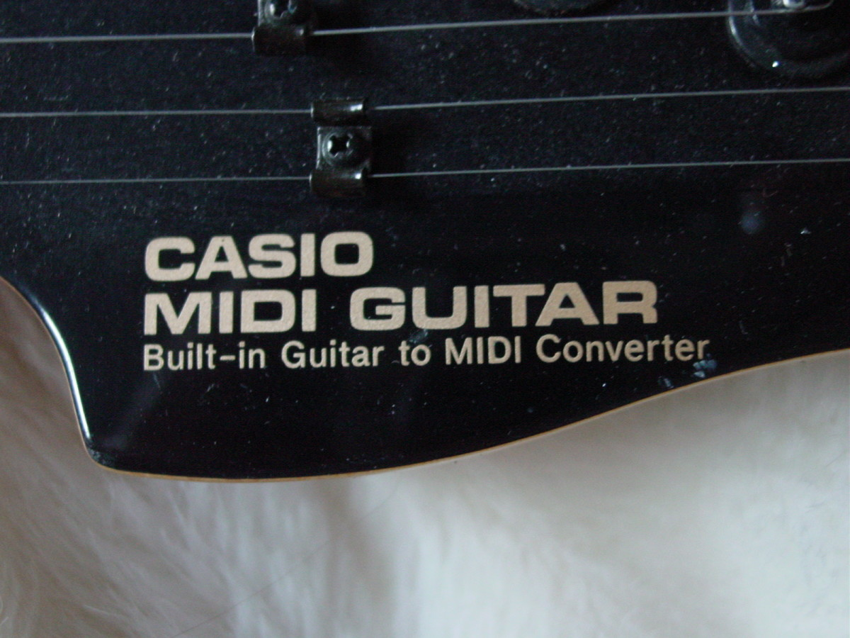 Headstock Labeling Detail