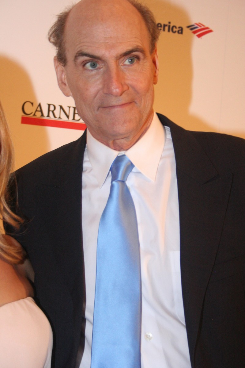 James Taylor at the 120th Anniversary of Carnegie Hall.