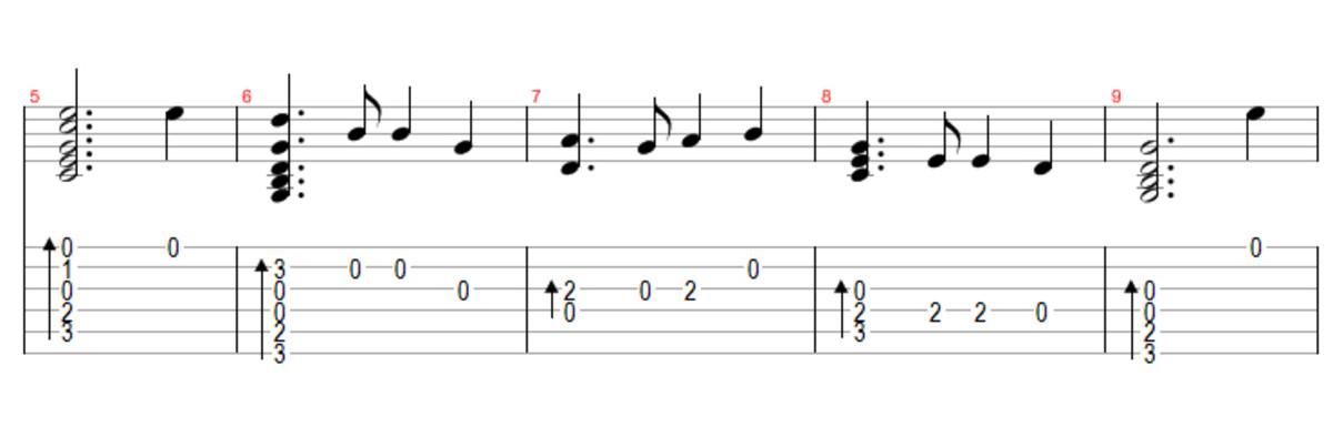 how to read guitar tabs symbols