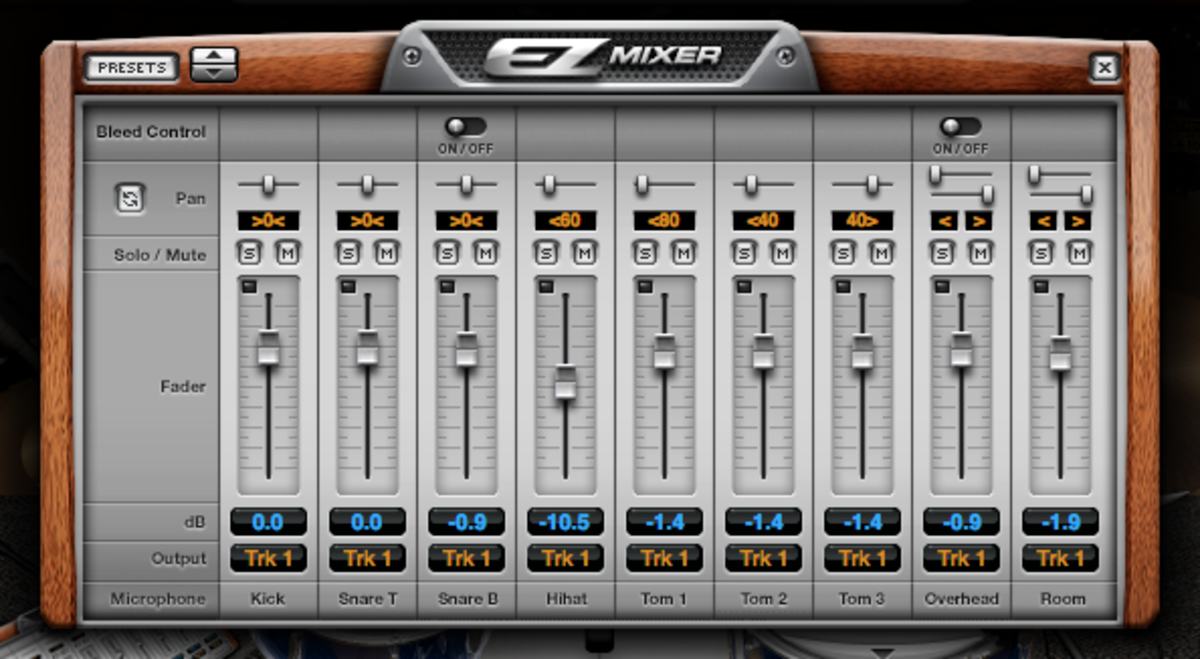 The EZ Mixer Window