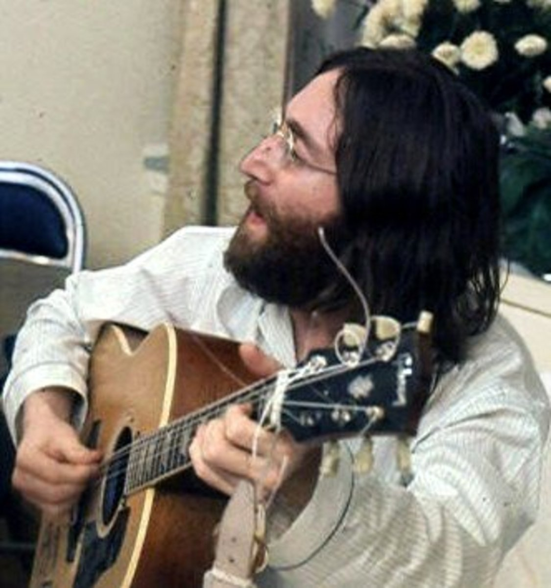 John Lennon wrote many socially conscious tunes.
